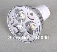 LED SPOT LIGHT 3W GU10 AC85-265V Warm White/White LED Lamp Bulb Spotlight LED Spot light Free Shipping