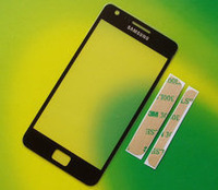 Original New replace Touch screen Outer Glass Lens for Samsung Galaxy S2 i9100 S 2 II free shipping