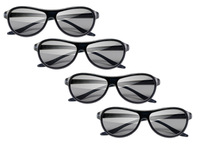 New 2012 Model Cinema 3D Glasses AG-F310 2 Pairs Black For LG
