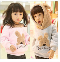 wholesale boys girls children thick hoodies fit 3-7yrs baby kids sweatshirt  autumn winter warm hoodies coat clothing 5pcs/lot