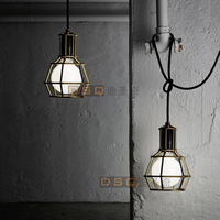 Industrial pendant lighting  warehouse iron lamp restaurant pendant light pendant light
