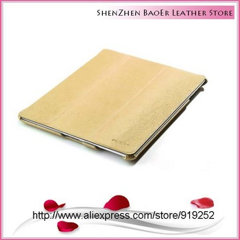 Free shipping Original Rock Texture series leather case for ipad 2 new ipad 3 ipad 4 ,Fashion and popular