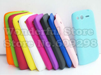 High Quality Anti-slip Rubberized Dream Mesh Hard Plastic Cover Case For HTC G13 Wildfire S Free Shipping 5pcs/lot