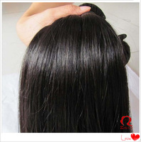 Free Shipping 100g Remy  Hair Extension Queens Hair Products Peruvian Straight Virgin Hair