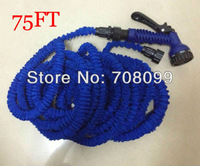 Free Shipping  75FT Expandable Garden Hose With Sprayer Nozzle Hose As seen On TV
