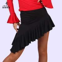 Dynasty dance Latin dance skirt Latin dance skirt hypotenuse dance short skirt Latin short skirt 2013