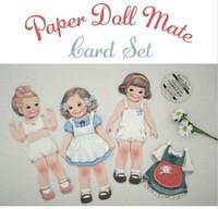 New doll girl 3 envelope + 3 gift card per set / DIY Multifunction greeting card /Free Shipping