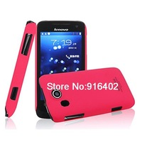 Mobile Phone Case ANC (imak) Lenovo A789 thin matte color covers (with screen protector)