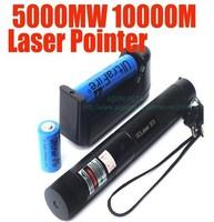 HOT!!!Burn match 5000mw Strong power green laser .Ture power Green laser pointer, burning matches fastest, green laser pen, .