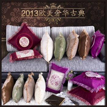 Cat quality fashion kaozhen luxury cushion sofa classical tassel pillow core