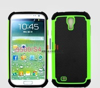 200 pcs/lot New 3 in 1 Design Football line PC+silicone Hybrid Combo Back Cover case for Samsung Galaxy S4 i9500