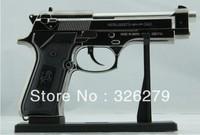 1:1 PIETRO BERETTA U.S.9mm M9 Metal plating layer Pistol Lighter