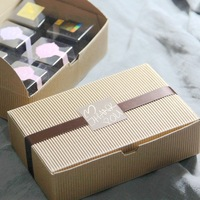 18.2*12*5CM cake biscuit candy gift box container wedding party favor gift food packaging