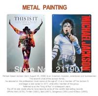 Michael Jackson This Is It Tin Signs - 11.8'' X 7.87'' - 2pcs/lot