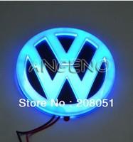 Volkswagen VW Golf 6 CC Tiguan Scirocco 4D front logo light LED cold light emblem led logo Car Sticker car badge