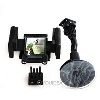 360 Rotating Universal Car Windshield Mount Holder Bracket for for GPS Smartphone with Photo Frame Wholesale