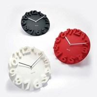 Clock three-dimensional relief wall clock individuality brief 3d digital clock stereo clock