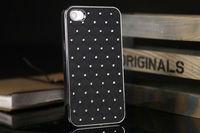 Bling Bling Starry Luxury Crystal Diamond Rhinestone Chrome Case for iPhone 4 4S