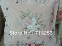 NO.112P  free shipping new floral fashion luxury beautiful cheap pillow case for living loom sofa bed and car