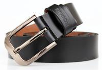 2014 100% Cowhide Genuine Leather Vintage Men Straps Belts Gifts For men Fashion brand designer belt male casual belt
