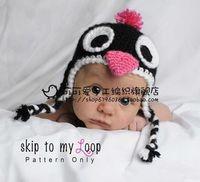 Child hat baby penguin hat style cap cartoon hat fashion props