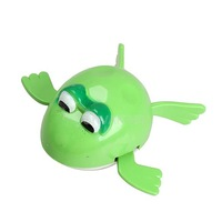 #Cu3 New Wind up Frogman Bath Diver Toy Swimming Frog Baby Kids Bathing Toys