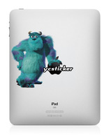 Free Shipping 2013 Decal for iPad Sticker Decal for iPad Mini Decal Monsters University Sticker