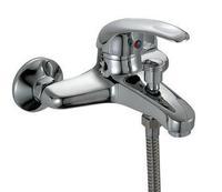 3001 copper hot and cold shower faucet single hole bathtub shower faucet