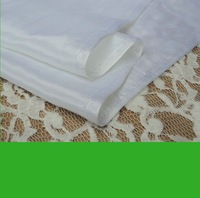 nature  White Silk Cotton Fabric For Lining 9m/m 140CM  50%Silk 50% Cotton