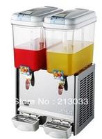 HOT SALE!! 2tanks cooling juice machine, juice maker