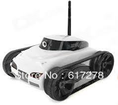 Free Shipping Newest ST287 2.4G 4CH I-spy tank Wifi tank Electric Remote Control With Camera Toy RC Tank(China (Mainland))