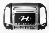 "7"" In Dash Car DVD Player for Hyundai Santa Fe 2006-2012 with GPS Navigation Audio Video Radio Stereo Bluetooth TV Map USB"