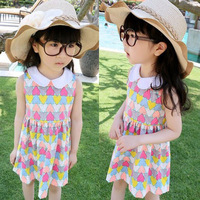 5pcs/lot new 2013 autumn kids clothing girl's long sleeve fashion dress with belt ZZ1066