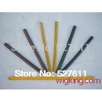 wigking hair extension keratin black melt glue sticks/italian keratin free shipping