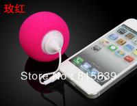 Free shipping Multi-Color Creative Mini Speaker,Music Balloon,Portable Music Speaker,Cute Music Ball for iphone htc