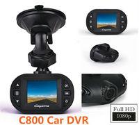 "FreeShipping New Sale !FULL HD 1080P Novatek Resolution MINI C800 Car DVR Camera Video Recorder 1.5""LTPS+HD  Full Glass Lens"