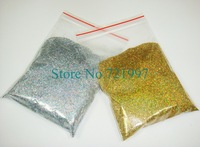 50g x Laser Gold & Silver Colors Shining Nail Glitter Dust Powder for Nail Art DIY decoration-Free Shipping