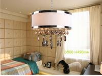 Epistar LED Candle Pendant Light/K9 Brown Crystal/Hardware/Frame Shape/Chain/modern/hanging/lighting/discount/round design/HOT