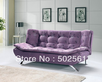 2014 new modern fabric 3 seater sofa bed lounge leisure living room furniture