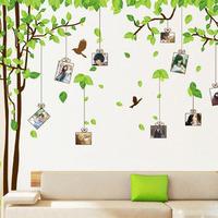 Big sticker Size 300*180cm DIY Life photos stickers tree Photo Wall stickers /Finish Free shipping