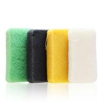 Natural konjac super fine fiber multifunction shower bath sponge wash colour cotton M8026