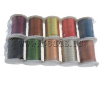 Free shipping!!!Copper Wire,Sexy jewelry, mixed colors, 0.30mm, Length:100 m, 10PCs/Lot, Sold By Lot