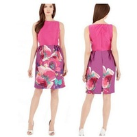 2013 New High End KM Satin Ruched Sheath Bodycon Pencil Dress Runway Women Summer Beautiful Cocktail Ball Dress