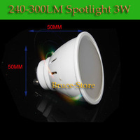 10pcs/Lot 2835 SMD GU10 3W Warm/Cold White Home Lighting 240lm-300lm Light LED Lamp Spotlight Bulb light