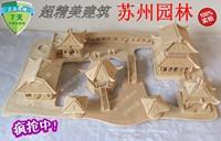 3d puzzle handmade diy assembled wooden model toys