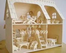 Model 3d teka-teki pendidikan mainan zagged furniture bundel penuh
