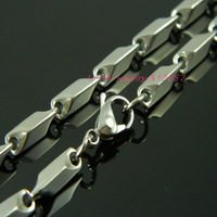 4.0mm*55cm 22inch 316L Stainless Steel Silver Link Chain Necklace For Men Fashion Long Chain Stainless Steel Jewelry 13070606