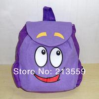 "Free Shipping Dora the Explorer Plush Backpack Child PRE School Toddler Bag 10"""