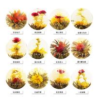 wholesale premium 12 kinds arts crafts tea blooming tea beautiful blooming tea 12pcs freeshipping+secret gift