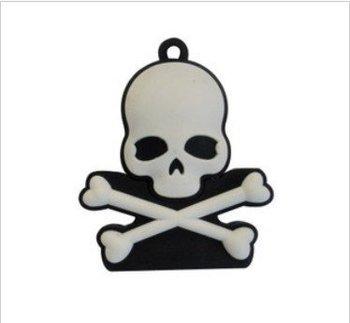 New Full Capacity Gray Skeleton Head King USB 2.0 Flash Memory Drive Stick 4GB/8GB/16GB/32GB